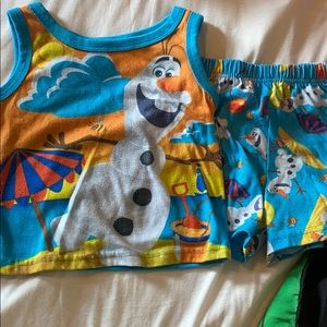 Olaf summer jammies
